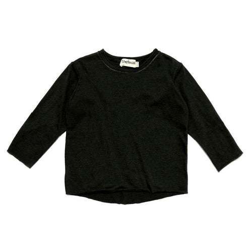 Treehouse Long Sleeve Shirt, Black