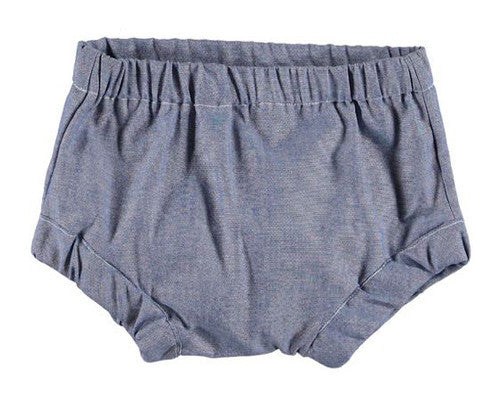 Billie Blooms Bloomers, Dylan Light Chambray