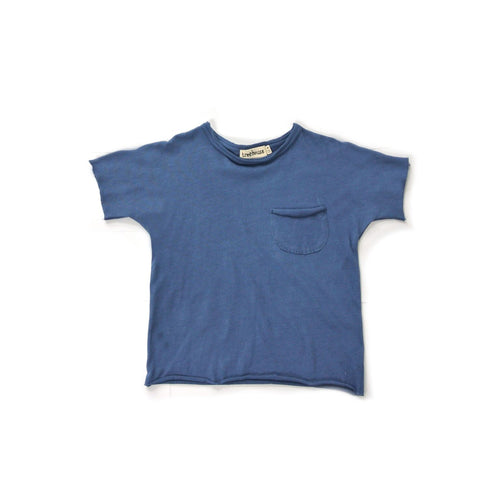 Treehouse Edo T-Shirt and Pocket, Ocean Blue