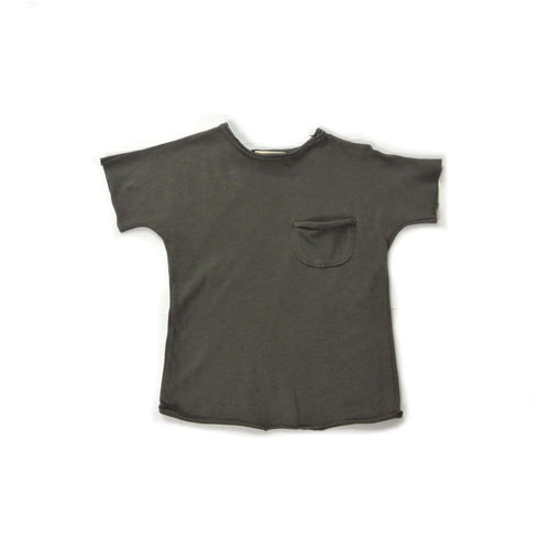 Treehouse Edo T-Shirt and Pocket, Charcoal