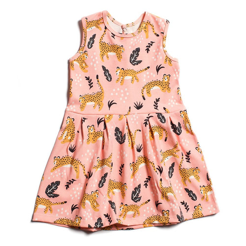Winter Water Factory Essex Dress, Wildcats Pink