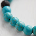 Kids Essential Oil Bracelet, Follow Your Intuition Turquoise