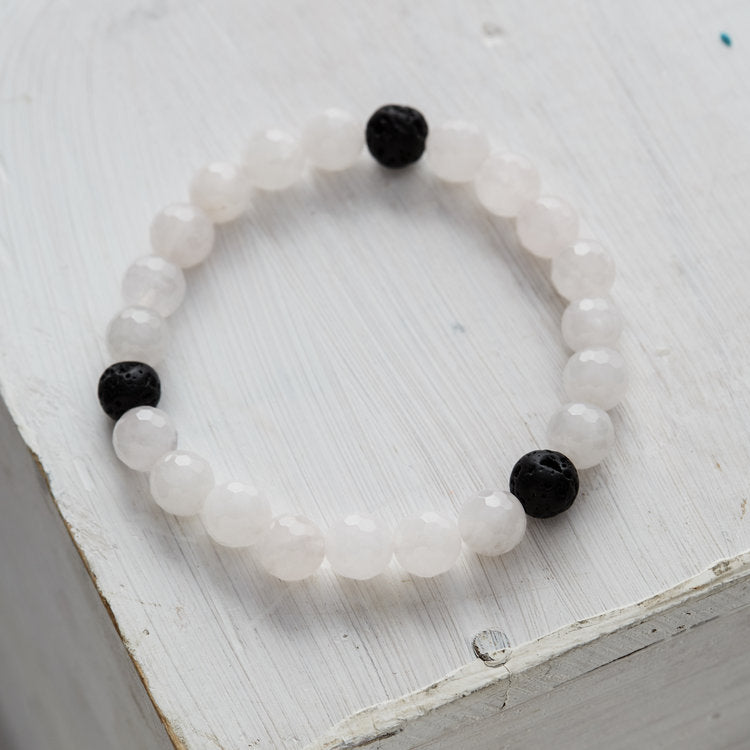 Kids Essential Oil Bracelet, Strength in Love
