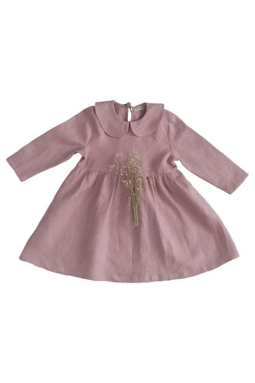 Minimom Chloe Dress, Pastel Pink