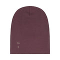 Gray Label Beanie, Plum