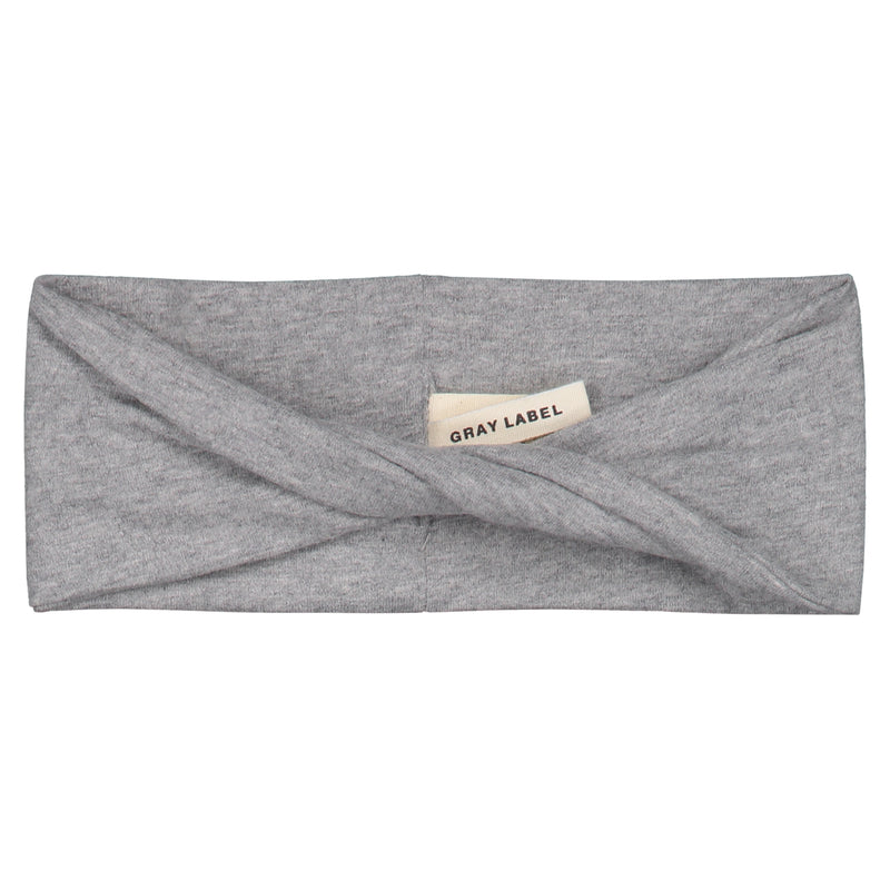 Gray Label Twist Headband, Grey Melange