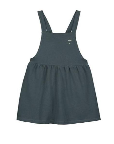 Gray Label Pinafore Dress, Blue Grey