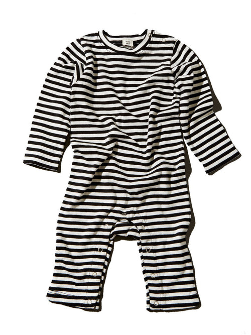GOAT-MILK Romper, Striped