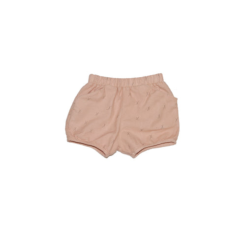 Go Gently Nation Flannel Short, Taupe X's