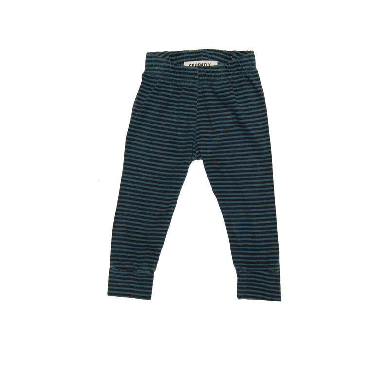 Go Gently Nation Pencil Pant, Oasis/Black Striped