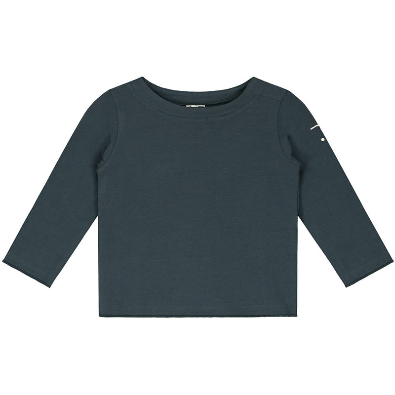 Gray Label Baby L/S Tee, Blue Grey
