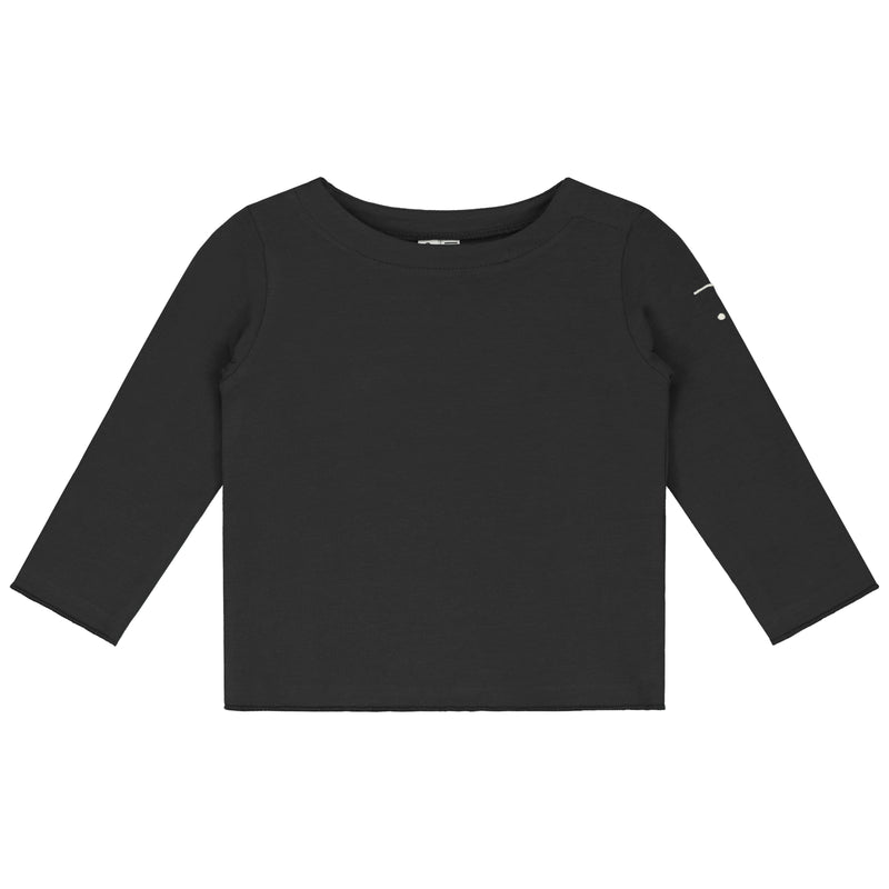 Gray Label Baby L/S Tee, Nearly Black