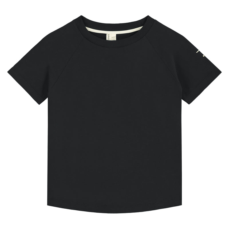 Crewneck Tee, Nearly Black