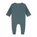 Newborn Suit with Snaps, Blue Grey