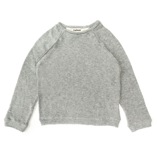 Treehouse Pullover, Grey Marl