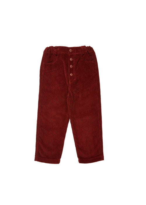 Caramel Hastings Trousers, Rust