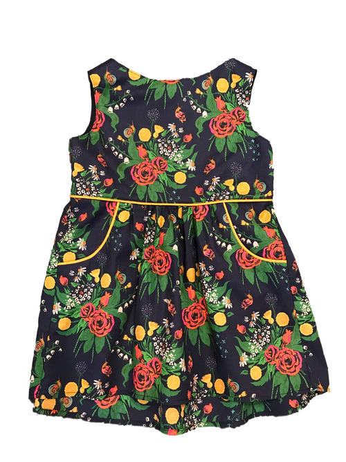 Mimi and Mack Ellie Dress, Navy Floral