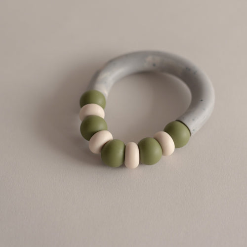 Otherware Mini Chill Teether, Moss