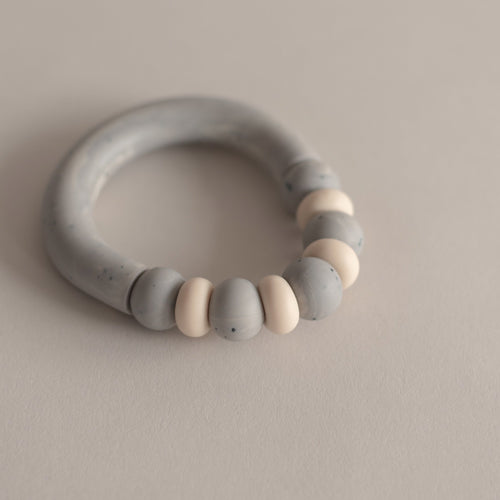 Otherware Mini Chill Teether, Stone