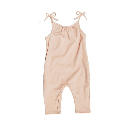 Go Gently Nation Jersey Jumpsuit, Desert Pink