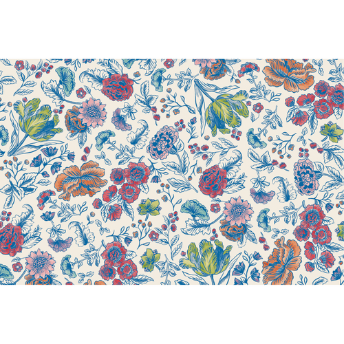 China Blue Floral Placemat