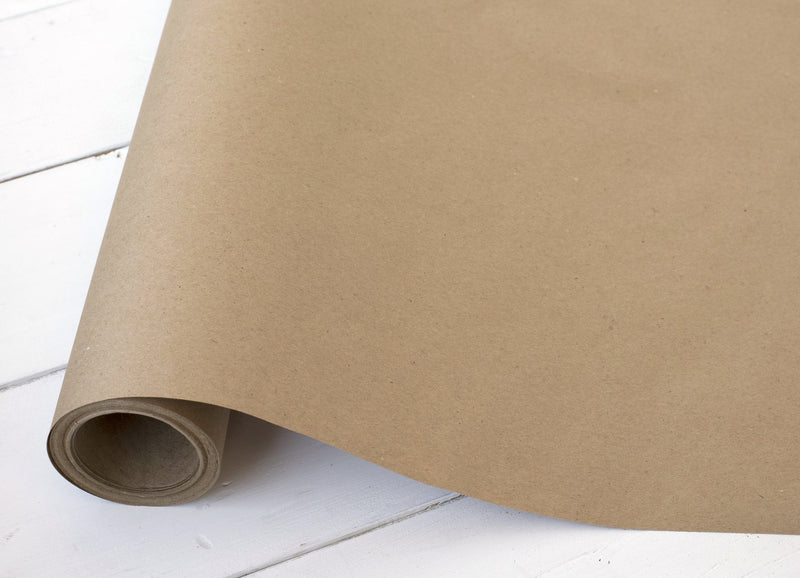 Plain Kraft Paper Table Runner