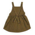 Organic Pinafore Dress, Spice