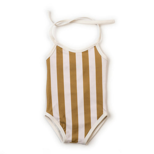 Kidwild Swimsuit, Yellow Stripe