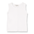 Lea Sleeveless Top, Off-White