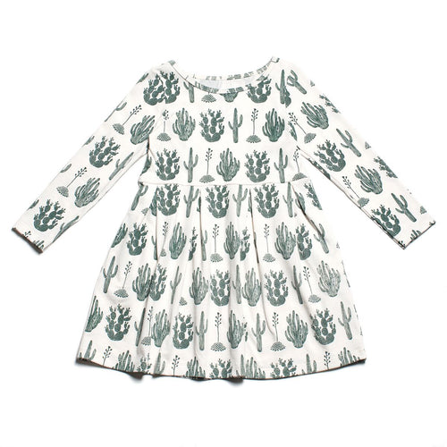 Winter Water Factory Madison Dress, Cactus Green