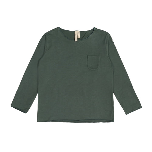 Gray Label Long Sleeve Pocket Tee, Sage