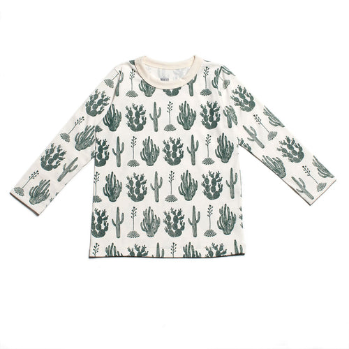 Winter Water Factory Long-Sleeve Tee, Cactus Green