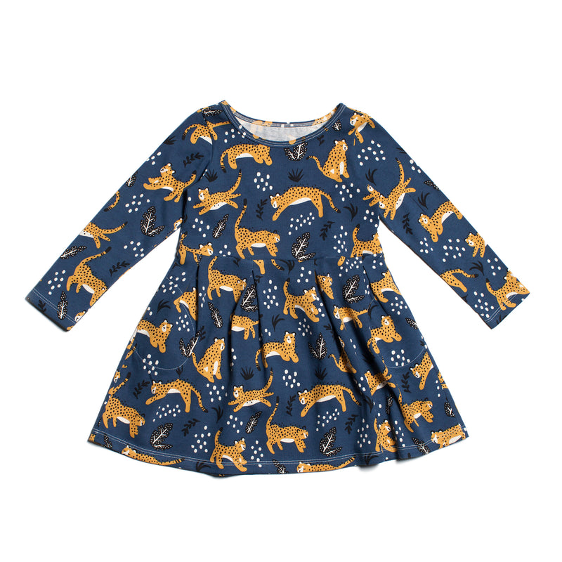 Winter Water Factory Madison Dress, Wildcats Navy