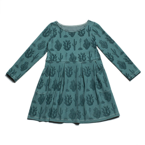 Winter Water Factory Madison Dress, Cactus Teal