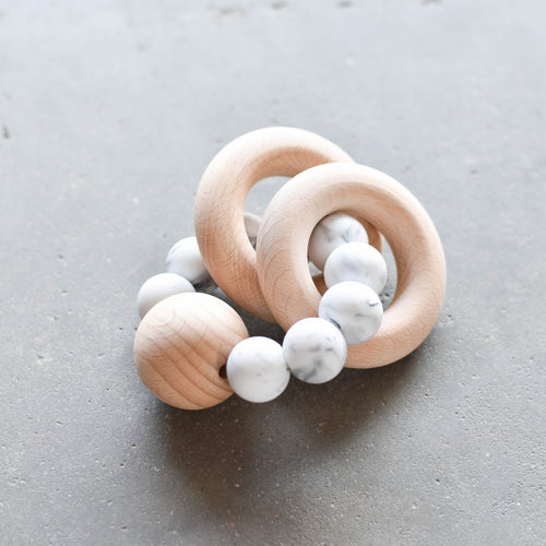 Otherware Burly Teether, Marble