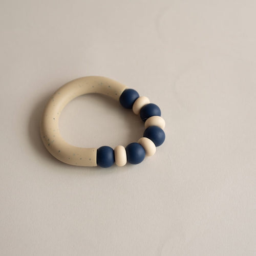 Otherware Mini Chill Teether, Cove/Sandstone