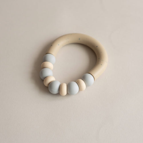 Otherware Mini Chill Teether, Mist/Sandstone