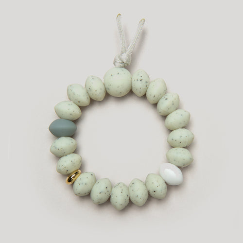 January Moon Bracelet, Moonlight