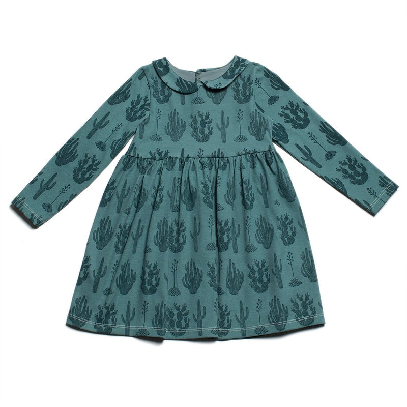 Winter Water Factory Nashville Dress, Cactus Teal