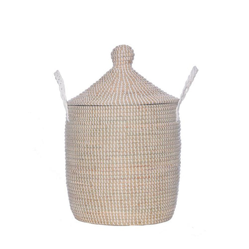 Neutra Lidded Basket, Medium
