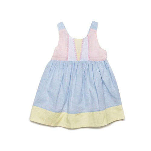 Egg Pastel Tiana Dress, Denim
