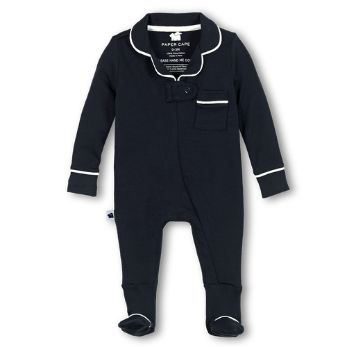 Pajama Footie, Navy