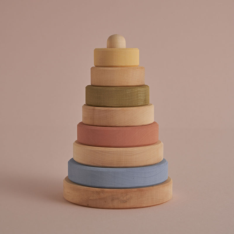 Raduga Grez Pastel + Natural Stacking Tower