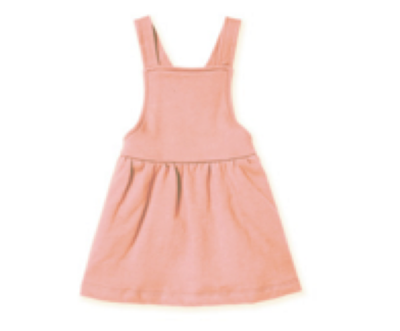 The Pinafore Dress, Rose