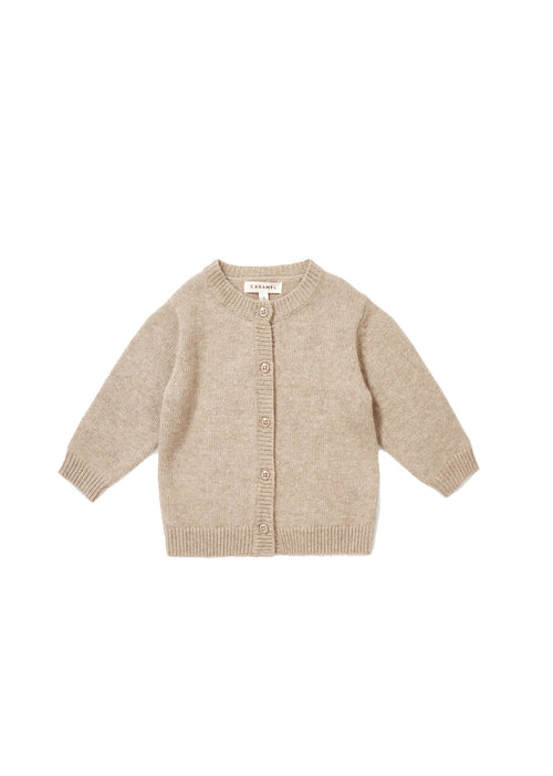 Caramel Sandgate Cardigan, Light Taupe