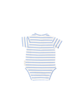 Tinycottons Baby Set Bloomer & Bodysuit, Blue Square Dots & Stripes