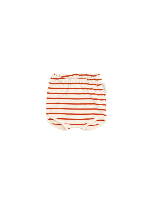 Tinycottons Striped Bloomer, Carmin