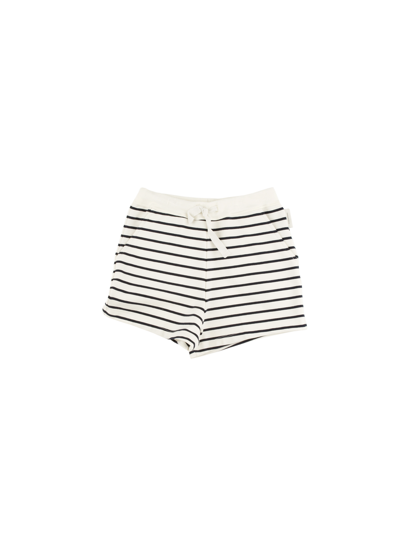 Tinycottons Striped Shorts, Navy