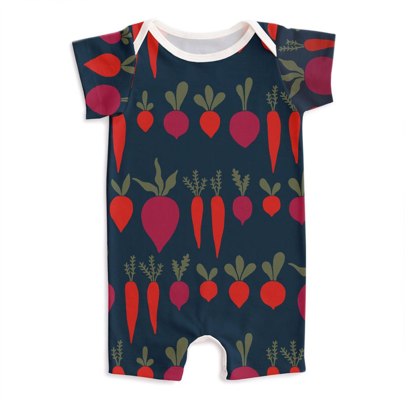 Summer Romper, Root Vegetables Night Sky
