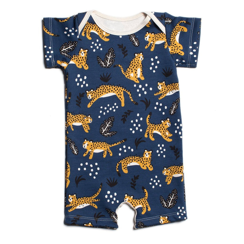 Winter Water Factory Summer Romper, Wildcats Navy